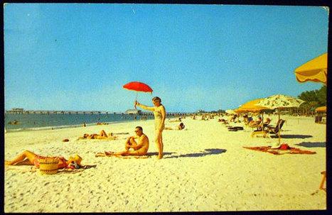 Clearwater's Famous South Beach Vintage Postcard | Antiques n' Oldies | Scoop.it