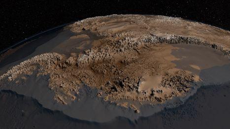 En vidéo : la Nasa révèle la topographie cachée de l'Antarctique | Tout le web | Scoop.it