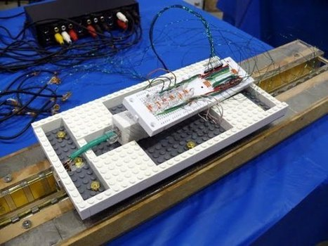 Prototyping a Maglev train using LEGO | News we like | Scoop.it