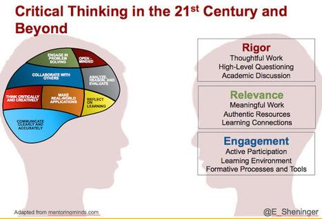 Critical Thinking in the 21st Century and Beyond via Eric Sheninger | Дистанционная Школа | Scoop.it