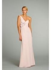 Sheath Column One Shoulder Floor Length Bridesmaid Dress Bbjh0186 for $345 | Bellaboy | Scoop.it