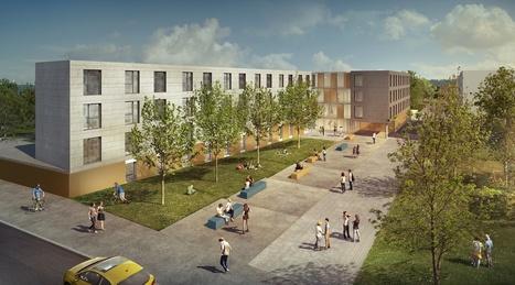 Face à la pénurie de logements étudiants en France, le concept de construction modulaire bois fait son chemin. Plus faciles à mettre en oeuvre et économiquement intéressants, ces modules permettent... | construction bois et reglementation thermique RT 2012-2020 | Scoop.it