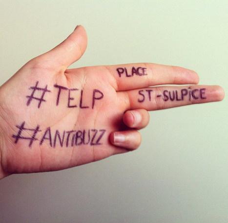 #Antibuzz tente d'épuiser un lieu parisien / France Inter | Cabinet de curiosités numériques | Scoop.it