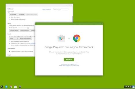 Le Google Play Store va arriver sur Chome OS, et donc tous les Chromebooks | Freewares | Scoop.it
