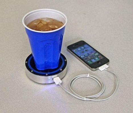 Epiphany One Puck Charges Your Phone Using Hot Coffee Or A Cold Beer | LeiaSopata | Scoop.it