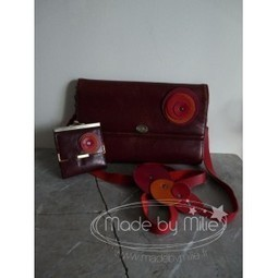 Ensemble Bulle - MadeByMilie | Maroquinerie | Scoop.it