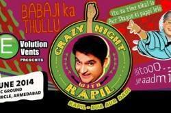 Crazy Nite With KAPIL SHARMA Ahmedabad - GoEventos.com | Events in Ahmedabad, Current & Upcoming Exhibition, Concerts and Events in Ahmedabad | GoEventos | Scoop.it