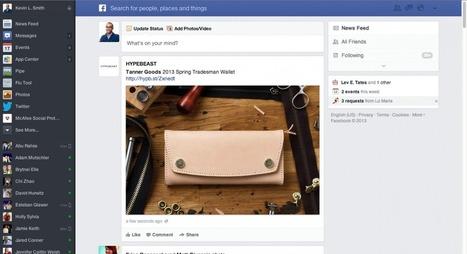 Por que o Facebook abandonou um ótimo redesign para o feed de notícias | Web Design & UX | Scoop.it