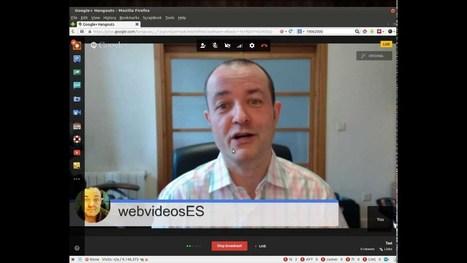 Hangouts en directo de Google+:así funciona la nueva interfaz del sistema de emisiones de vídeos en directo de Google   Google tresnak   Scoop.it