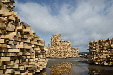 A Sculpture You Can Walk Through: A Russian Pavilion of Wood Offcuts | Communication design | Scoop.it
