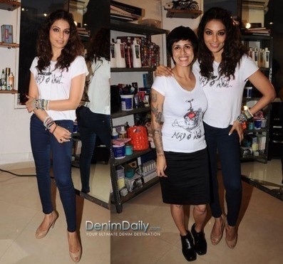 Bipasha Basu In Dark Skinnies | Denim Daily | Denim Daily | Scoop.it