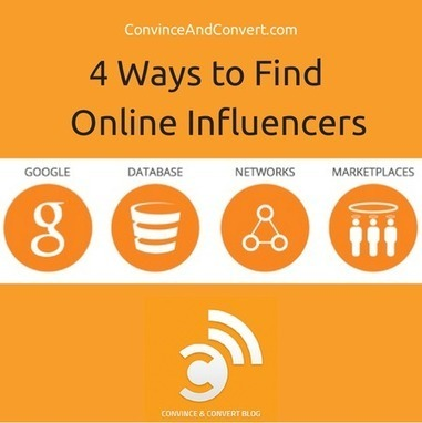 The 4 Ways to Find Online Influencers | Convince and Convert: Social Media Strategy and Content Marketing Strategy | SocBiz Employee Engagement | Scoop.it