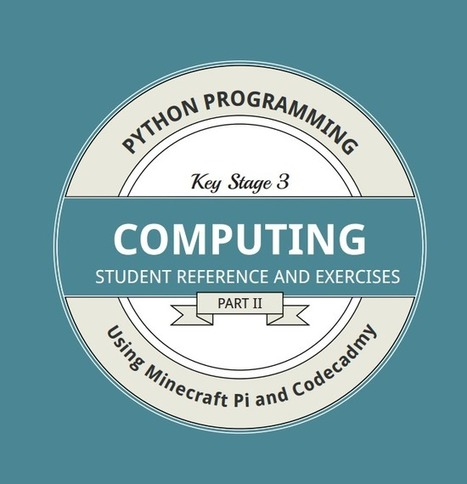 Learning Python using Codecademy and Raspberry Pi Minecraft: a resource of great note | Raspberry Pi | Arduino, Netduino, Rasperry Pi! | Scoop.it