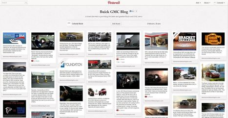 Buick Uses Pinterest Contest for New Encore Design | Lawrenceville, GA | Pinterest | Scoop.it