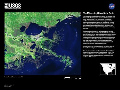 The Mississippi River Delta Basin | Geografía | Scoop.it