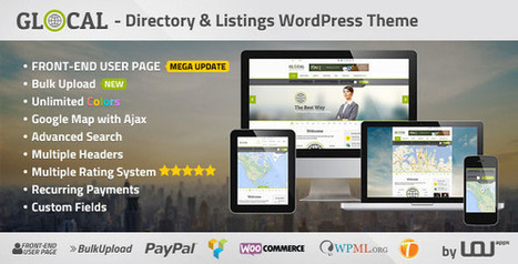 Ezequiel Hicks: GLOCA Directory & Listings Wordpress Theme v1.8.1 Download | Download Free Nulled WP Themes & Plugins | Scoop.it