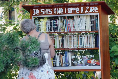 Des «boîtes à lire» pour faire circuler les livres | Coopération, libre et innovation sociale ouverte | Scoop.it