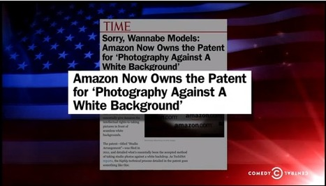 Stephen Colbert takes on Amazons White Background Photography Patent  | 1ProPhoto.Com | Photography | Scoop.it