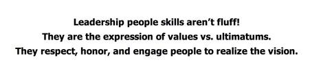 Leadership People Skills: Achieve Vision With Values vs Ultimatums - Kate Nasser   #BetterLeadership   Scoop.it
