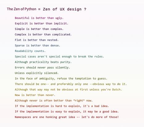 Zen of UX from a Developer | Web Content Enjoyneering | Scoop.it