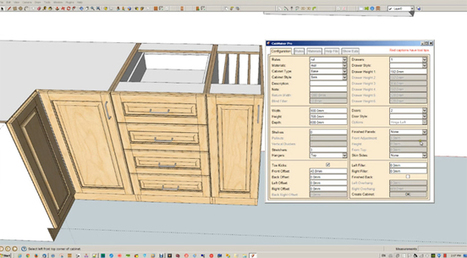 GKWare Cab Maker, Kitchen & Vanity | SketchUp Extension Warehouse | Sketchup Style | Scoop.it