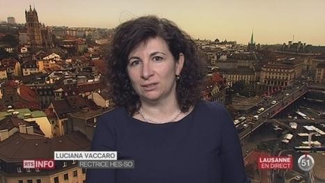 Bilan de la HES-SO: entretien avec Luciana Vaccaro à Lausanne | HES-SO Valais-Wallis | Scoop.it
