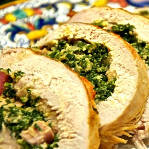 Rotolo di Tacchino - Roast Turkey Roll