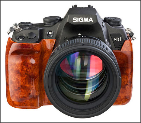 Sigma Germany announces SD1 Wood Edition with burl veneer | Everything Photographic | Scoop.it