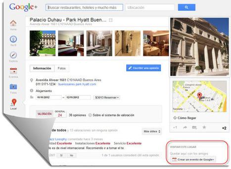 Google permite crear eventos desde las páginas de Google+ Local | Amigo de Cervantes Japón y España | Scoop.it