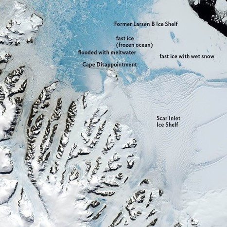 Antarctica's Scar Inlet Ice Shelf is anticipated to shatter by the end of March   Oceans and Wildlife   Scoop.it