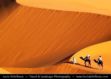 Morocco - Sahara Desert - Sand Dunes of Erg Chebbi | desert photography | Scoop.it