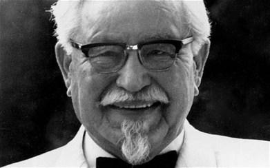 Harland David Sanders de KFC est de retour !   Culture Pub   Scoop.it