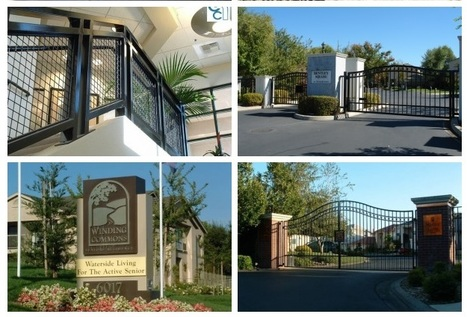 Commercial Entry System, Automatic Gates & More   Find unique Design on Wrought Iron Gates in Roseville, Sacramento   Scoop.it