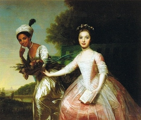 'Belle': An 18th Century image based on the story of the daughter of a Royal Navy captain & a slave | Black Fashion Designers | Scoop.it