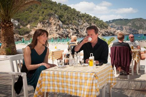 David Cameron played tennis in Ibiza as UK was on terror alert | Babolat Racquet  Tennis | Scoop.it
