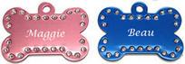Swarovski Crystal Pet ID Tags | imarketingaddvantage | Scoop.it