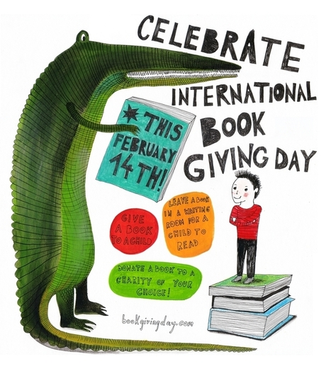 International Book Giving Day 2014 Poster | 21 century Learning Commons | Scoop.it