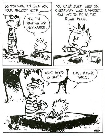 Calvin & Hobbes on creativity - Holy Kaw! | Accelerating innovation through transformation | Scoop.it