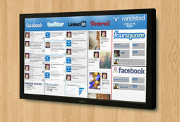 Put Your Social on the Wall! | #Social | Scoop.it