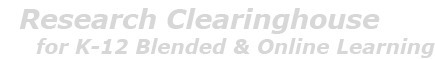Launch of Research Clearinghouse for K-12 Blended and Online Learning | 21st Century Information Fluency | Scoop.it
