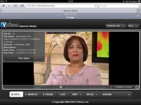Todo monitorizado, con Volicon, en NAB 2013 | Panorama Audiovisual | Big Media (Esp) | Scoop.it