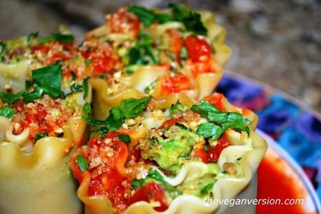 Avocatta Lasagna Rolls [Vegan] | My Vegan recipes | Scoop.it