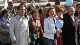 Putin, Medvedev Join In May Day March | Comparative Government and Politics | Scoop.it