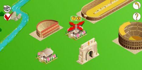 Cité romaine | Jeux proposés au CDI | Scoop.it