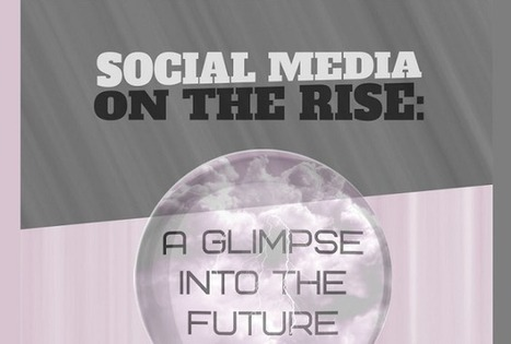 Visualistan: Social Media On The Rise: A Glimpse Into The Future [Infographic] | Social Media | Scoop.it