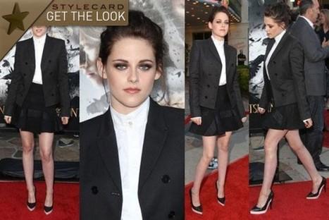 Get The Look: Kristen Stewart   StyleCard Fashion Portal   StyleCard Fashion   Scoop.it