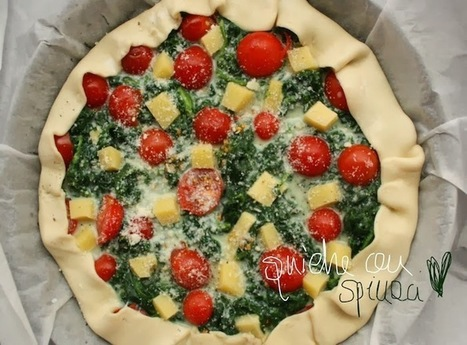 Ricetta quiche spinaci: una torta salata facile e veloce, ottima da consumare fredda | Encanthè | life style blog | Food and recipes | Scoop.it