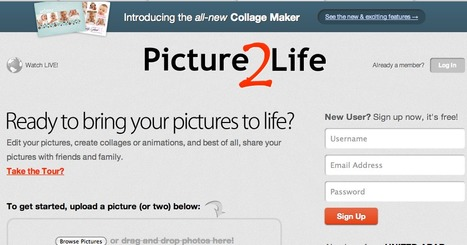 Edit Photos, Create Collages, Create Animations, Share Photos/Pictures Online FREE | Teaching in the XXI Century | Scoop.it