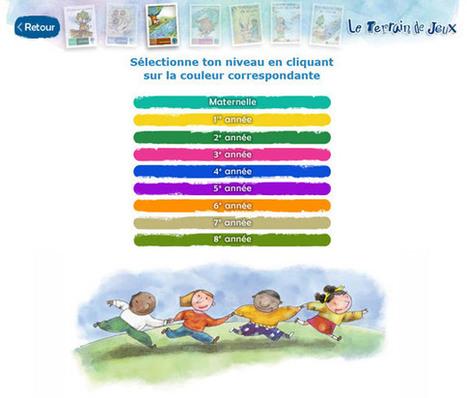 Des exercices de français pour le primaire avec Le Terrain de Jeux | Moisson sur la toile: sélection à partager! | Scoop.it