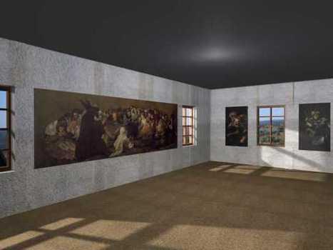 Goya: pinturas negras - Recorrido virtual por la Quinta del sordo, hogar de las pinturas negras de Goya | Historia del Arte - 2ºBachillerato | Scoop.it